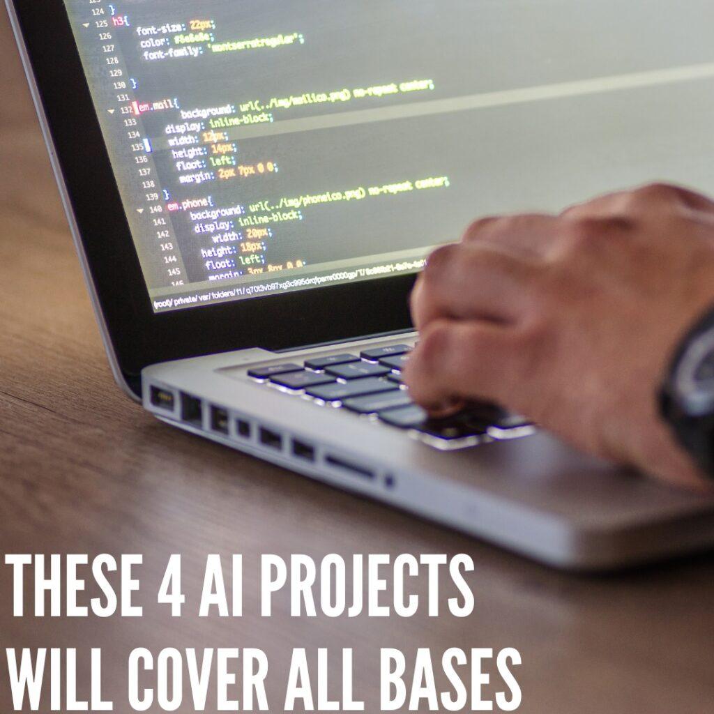 Anjuum khanna- List of 4 artificial  intelligence project list